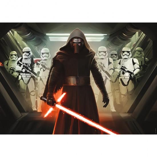 Puzzle 1000 pièces : Premier Ordre - Star Wars 7 - Nathan-Ravensburger-87614