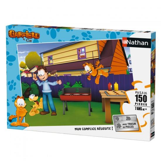 Puzzle 150 pièces : Garfield - Nathan-Ravensburger-86862