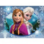 Puzzle 150 pièces Frozen : Anna et Elsa