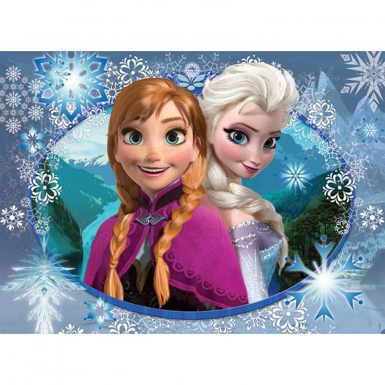 Puzzle 150 pièces Frozen : Anna et Elsa - Nathan-Ravensburger-86858