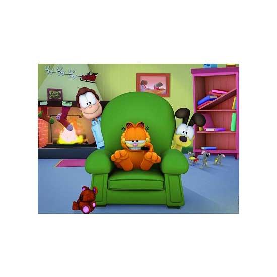 Puzzle 150 pièces Maxi - Garfield et ses amis - Nathan-Ravensburger-86840