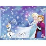 Puzzle 150 pièces : La Reine des Neiges