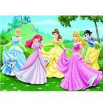 Puzzle 150 pièces Maxi - Princesses Disney : Dans le jardin des princesses