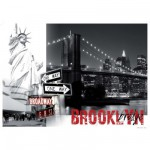 Puzzle 1500 pièces - New York : Brooklyn Bridge