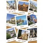 Puzzle 1500 pièces : Villages de France