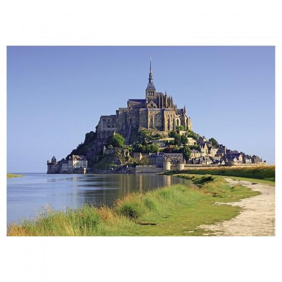 Puzzle 1500 pièces : Vue sur Mont Saint Michel - Nathan-Ravensburger-87770