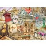 Puzzle 1500 pièces - Paris Métropolitain