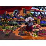Puzzle 2000 pièces - Femmes au marché