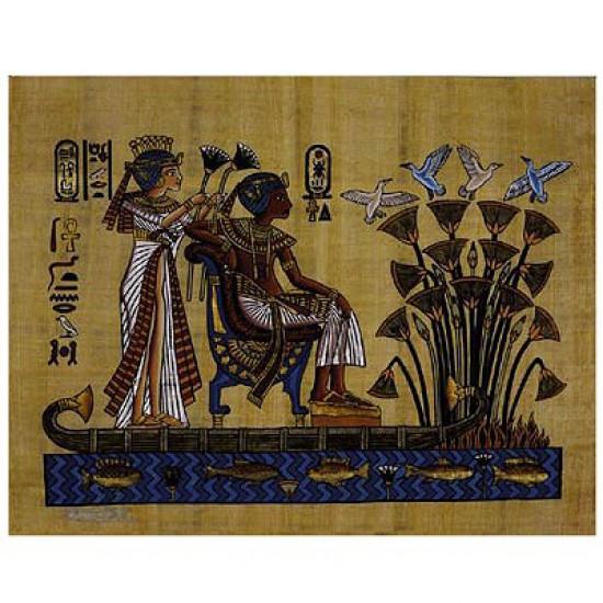 Puzzle 2000 pièces - Le pharaon et son épouse - Nathan-Ravensburger-87854