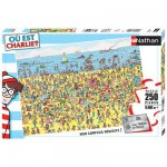 Puzzle 250 pièces - Où est Charlie ? : Charlie à la plage