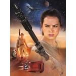 Puzzle 250 pièces : Rey - Star Wars 7