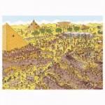 Puzzle 250 pièces XXL : Où est Charlie ? Au temps des pharaons