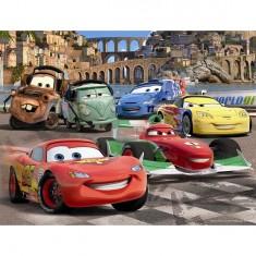 Puzzle 30 pièces - Cars 2 : Les amis de Flash McQueen