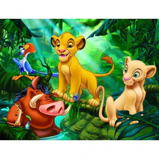 Puzzle 30 pièces - Le Roi Lion : Simba & Co - Nathan-Ravensburger-86313