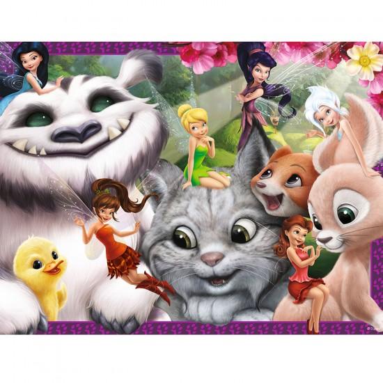 Puzzle 30 pièces : Disney les fées - Clochette et la créature légendaire - Nathan-Ravensburger-86337