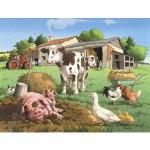 Puzzle 30 pièces - Journée à la ferme