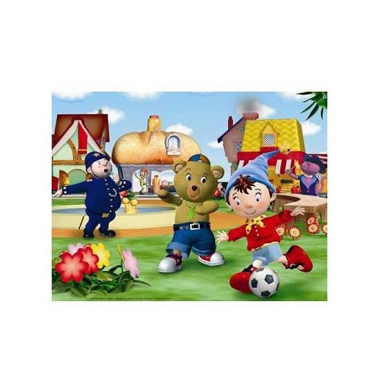 Puzzle 30 pièces - Oui Oui : Partie de foot - Nathan-Ravensburger-86296