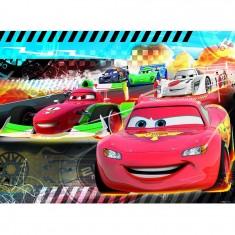 Puzzle 45 pièces : Cars : Pole position