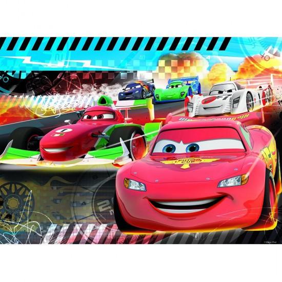Puzzle 45 pièces : Cars : Pole position - Nathan-Ravensburger-86514