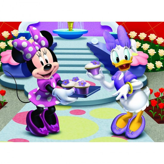 Puzzle 45 pièces : Les Desserts de Minnie - Nathan-Ravensburger-86513