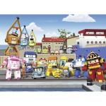Puzzle 45 pièces : Robocar Poli