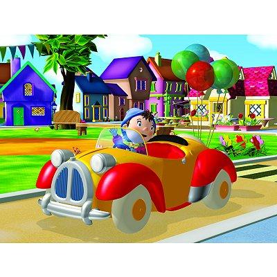 puzzle 45 pi ces oui oui petit tour en voiture nathan magasin de jouets pour enfants. Black Bedroom Furniture Sets. Home Design Ideas
