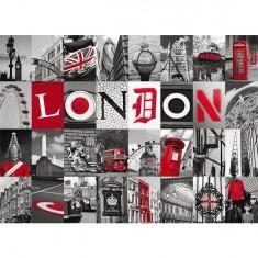 Puzzle 500 pièces - Souvenirs de Londres