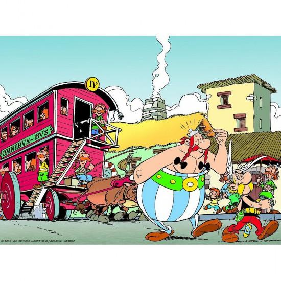 Puzzle 500 pièces : Astérix et Obélix à Londunium - Nathan-Ravensburger-87101