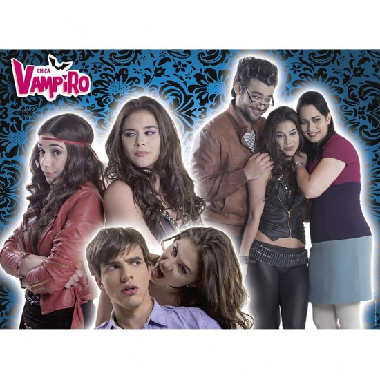 Puzzle 500 pièces : Chica Vampiro : Les personnages - Nathan-Ravensburger-87233