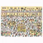 Puzzle 500 pièces : Où est Charlie ? Charlie au musée