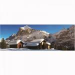 Puzzle 500 pièces panoramique : Chalet solitaire