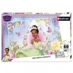 Puzzle 60 pièces - La Princesse et la Grenouille : La Princesse Tiana