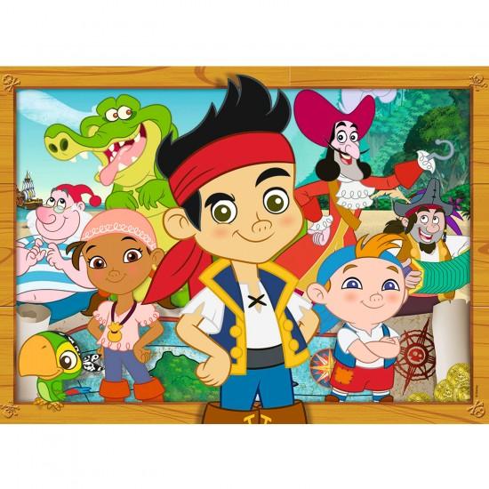 Puzzle 60 pièces : Disney - Jack et les pirates - Nathan-Ravensburger-86640