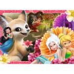 Puzzle 60 pièces : Disney les fées - Clochette, Découverte des créatures