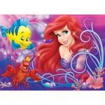 Puzzle 60 pièces Ariel : Jolie petite sirène