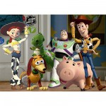 Puzzle 60 pièces - Toy Story : Dans la chambre de Andy