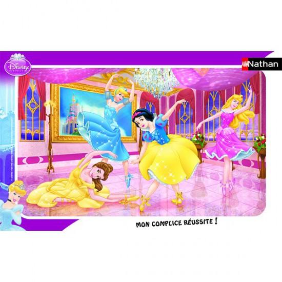 Puzzle cadre - 15 pièces - Princesses Disney : Le ballet des princesses - Nathan-Ravensburger-86006