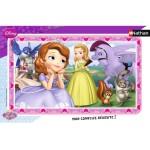 Puzzle cadre 15 pièces : Princesse Sofia - Sofia rêveuse