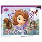 Puzzle cadre 35 pièces : Princesse Sofia