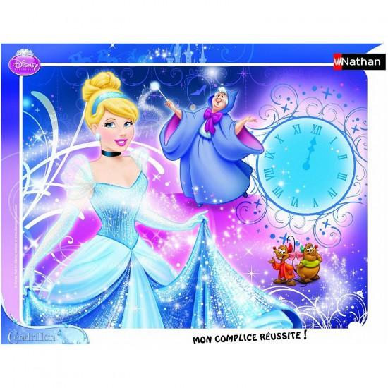 Puzzle cadre 35 pièces : Princesses Disney : Cendrillon et sa Marraine - Nathan-Ravensburger-86100