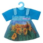 Robe pour poupée Nenuco 42 cm : Bleue