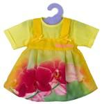 Robe pour poupée Nenuco 42 cm : Jaune