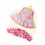Vêtement pour Bébé Nenuco 35 cm : Ensemble robe et gilet coeur