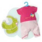 Vêtement pour Bébé Nenuco 35 cm : Ensemble Tshirt bavoir et pantalon
