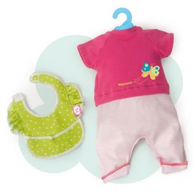 Vêtement pour Bébé Nenuco 35 cm : Ensemble Tshirt bavoir et pantalon - Nenuco-700011326-T17506