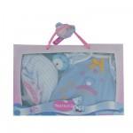 Vêtement pour Bébé Nenuco 42 cm : Pyjama manches courtes et Doudou Nounours