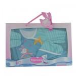 Vêtement pour Bébé Nenuco 42 cm : Pyjama manches longues rayé bleu