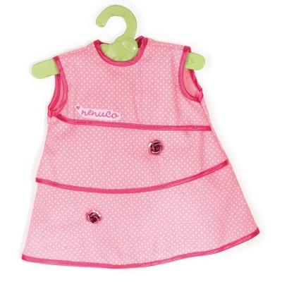 Vêtement pour Bébé Nenuco 42 cm : Robe rose à pois blancs - Nenuco-700008157-2