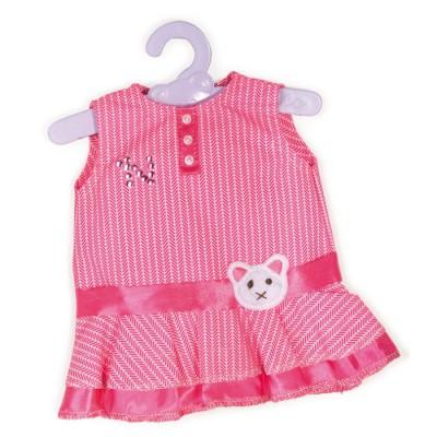 Vêtement pour Bébé Nenuco 42 cm : Robe rose avec ceinture chat - Nenuco-700008157-1