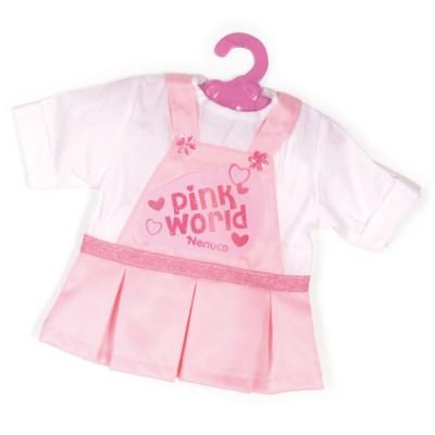 Vêtement pour Bébé Nenuco 42 cm : Robe rose - Nenuco-700008157-4